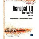 Acrobat 10 (version Pro) pour Mac