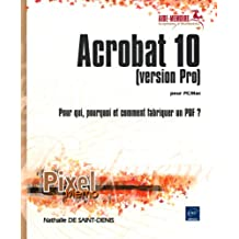 Acrobat 10 (version Pro) pour Mac