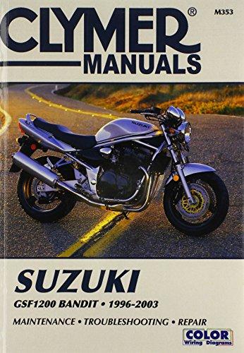 Suzuki Gsf 1200 Bandit 1996-2003 (Clymer Motorcycle Repair)