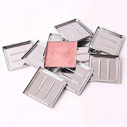 empty Metal hierro sartenes s-465 cosméticos Polvos de maquillaje para base de maquillaje contenedor