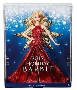 Barbie 2017 Holiday Doll, Blonde Hair 10