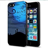 Haloween Night Apple Smartphone iPhone 5 5S Case Cover Collector Black Hard Cases