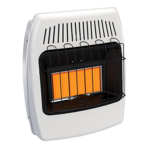 (Dyna-Glo IR18NMDG-1 18,000 BTU Natural Gas Infrared Vent Free Wall Heater)