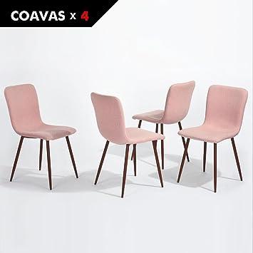 Küchentisch Und Stühle coavas esszimmerstühle stoff kissen küchentisch stühle mit stabilen