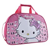 Hello Kitty Sanrio Charmmykitty Large Overnight Bag with Raised Motif