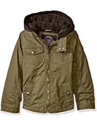 Amazon.com: Brown - Jackets & Coats / Clothing: Clothing, Shoes ...