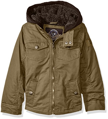 Urban Republic Little Boys' Washed Cotton Twill Jacket wi...