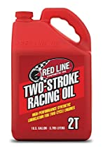 Red Line RED40605 2-Stroke Racing Oil - 1 Gallon Jug