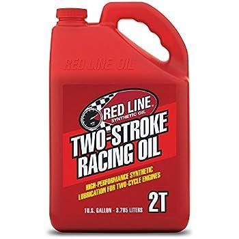 Amazon com: Red Line 40605 2-Stroke Race Oil, 1 Gallon, 1 Pack