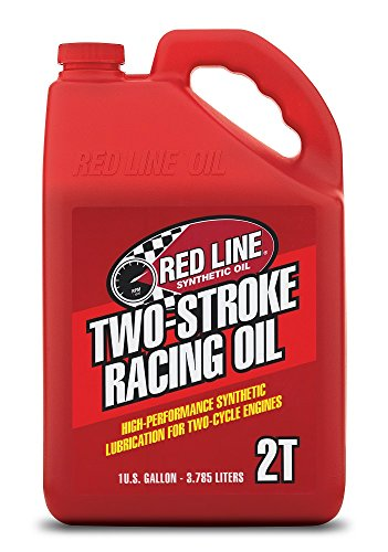 (Red Line 40605 2-Stroke Race Oil, 1 Gallon, 1 Pack)