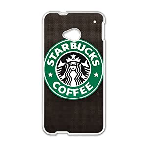 Starbucks design fashion cell phone case for HTC One M7