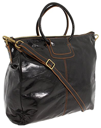 HOBO  Sheila Oversized Cross-Body Handbag,Black,One Size by HOBO