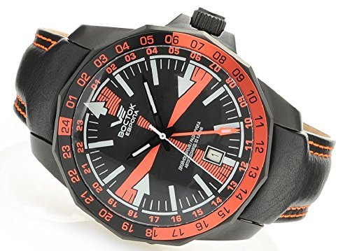 Vostok Europe Radio Room Automatic Men's Analog Limited Edition Watch Black 2426/225C269
