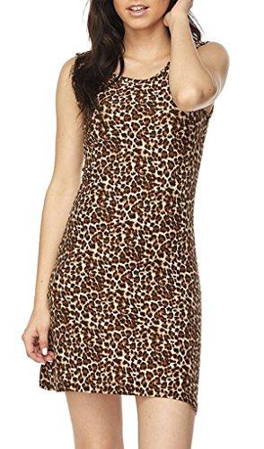 cheetah leopard print dresses - 6