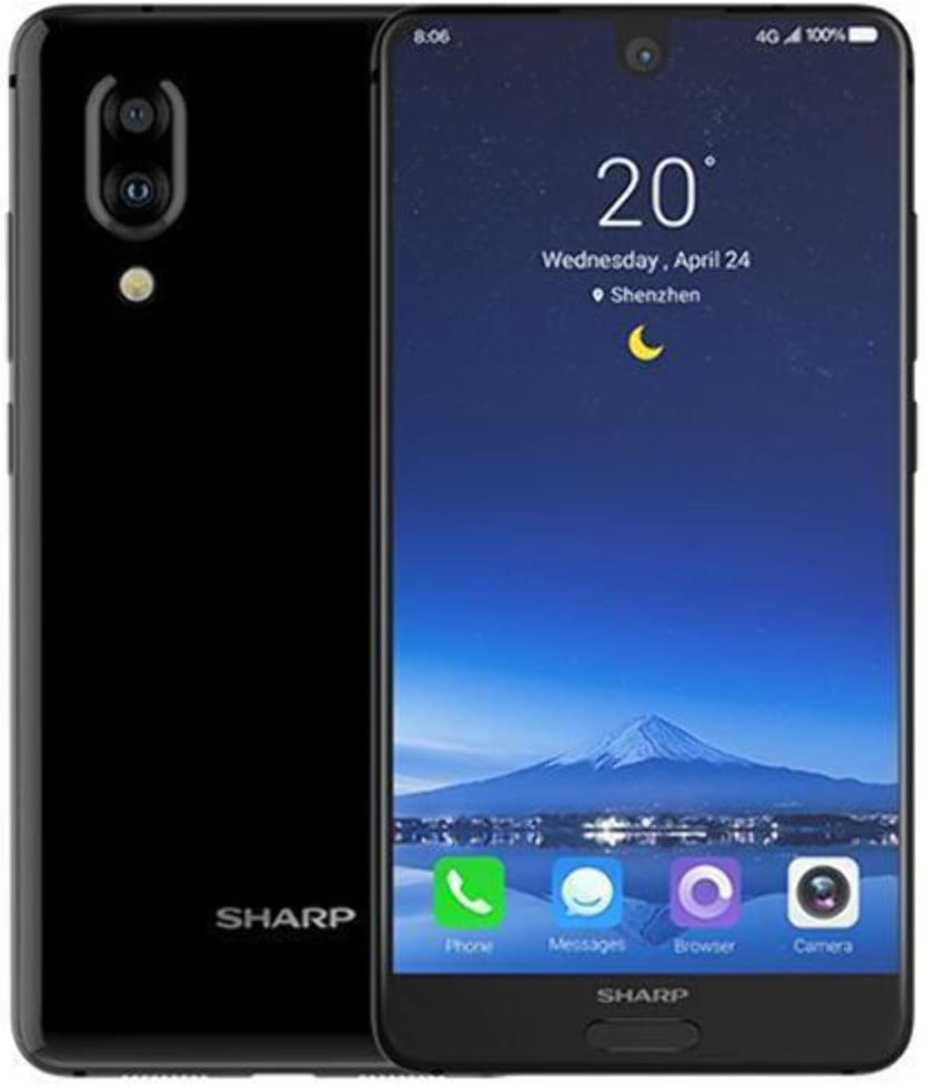 Sharp Aquos S2dual sim 64GB 4GB RAM fs8010Blue