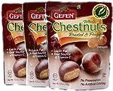 Gefen Whole Chestnuts, Roasted & Peeled , 5.2 oz, 3 pk