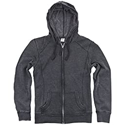 Hometown Clothing Cozy Zip-up Hoodie& 10% off coupon, Charcoal- M