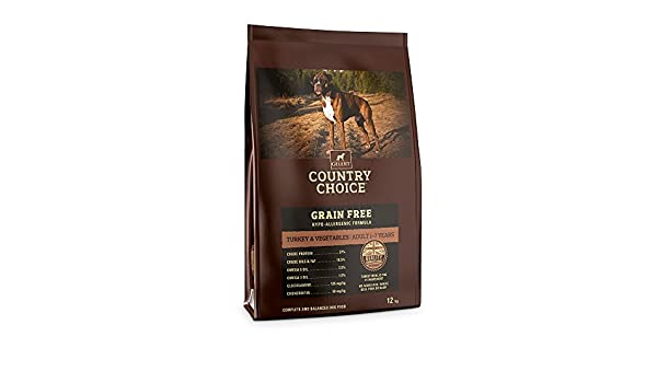 pet-170437 Gelert Country Choice SIN grano PAVO & Verduras (12kg): Amazon.es: Hogar