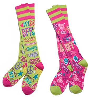 Amazon.com: BFF Best Friends Forever Mix & Match Knee