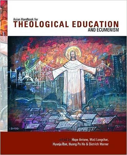 Book Asian Handbook of Theological Education and Ecumenism