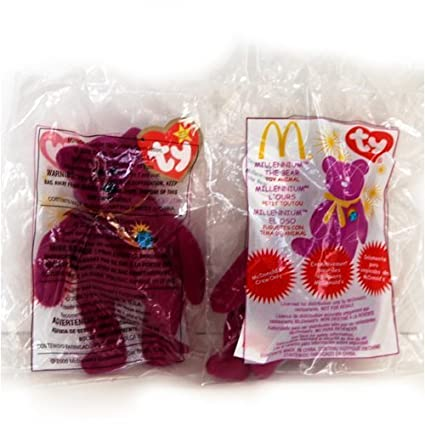 Amazon.com  Millennium the bear (Employee) McDonald s Ty Teenie ... b09cb9a2e97