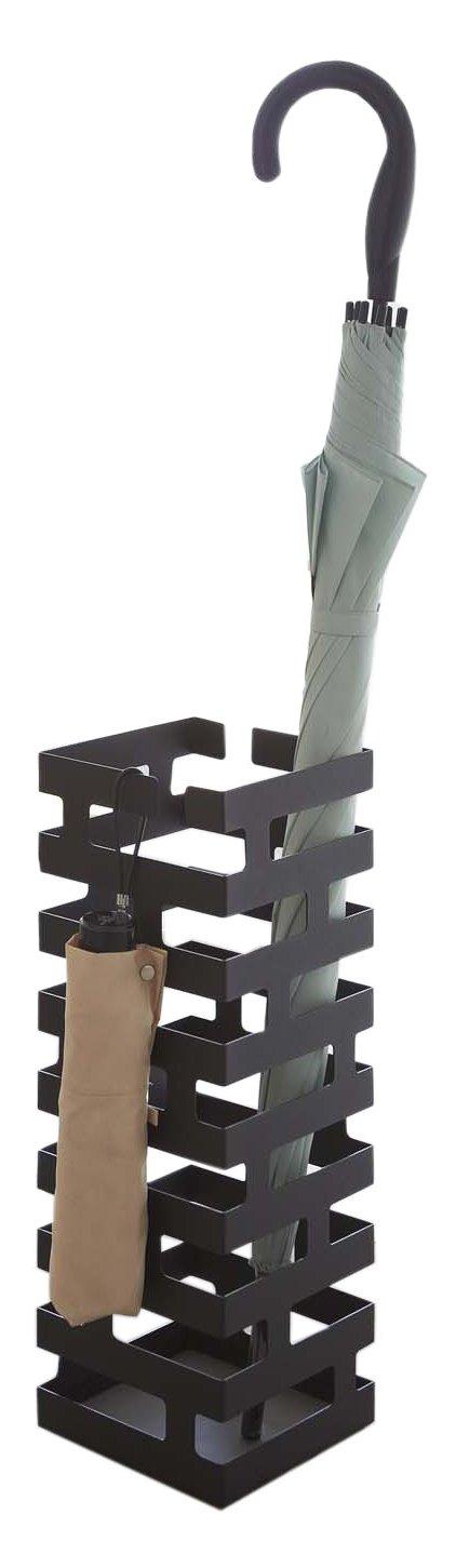 Hang Stand Modern Umbrella Rack in Black Finish Red Co. FR58K