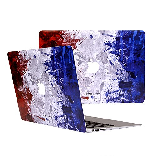 """D-park® For Apple Macbook Creative Painting Back Sticker Cover Decal Skin for Apple Macbook Air 13 inch Laptop (Air 13"""", Pomo Paris)"""