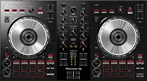 Pioneer DJ DJ Controller, Black (DDJ-SB3) (Equipment Needed To Dj With A Laptop)