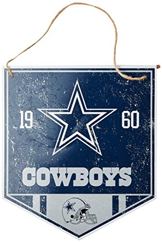Dallas Cowboys Metal Garden Sign -
