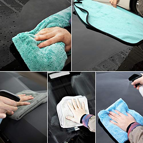 Towel Titan Microfiber Complete Bundle Kit - Microfiber Detailing Towels for Your Car, Boat, RV, Home, and More - Drying Towels, Utility Towels, Wax & Polishing Towels (Professional Bundle) by Towel Titan (Image #6)