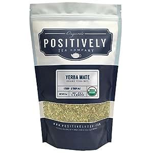 Organic Yerba Mate, Loose Leaf Tea Bag, Positively Tea LLC. (1 LB.)