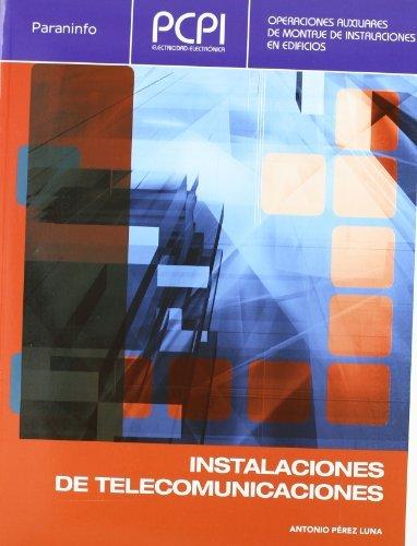 PCPI. Instalaciones de telecomunicaciones ANTONIO PEREZ LUNA