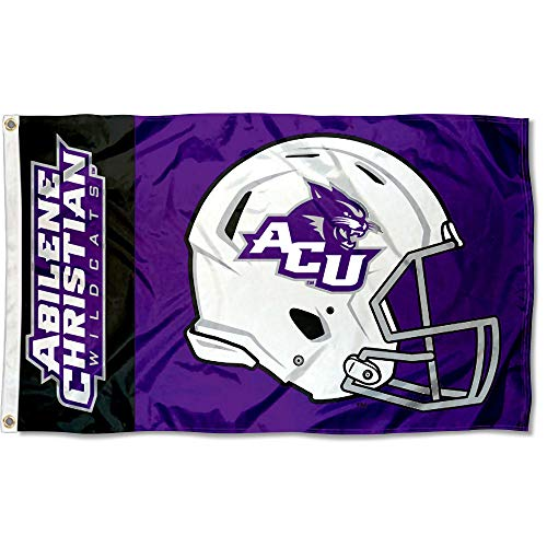 College Flags and Banners Co. Abilene Christian Wildcats Football Helmet Flag