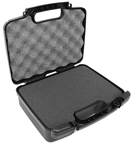 (CASEMATIX Portable Projector Carrying Hard Case with Customizable Foam Fits Sony Pico Mobile Projector MPCL1 , MPCD1 , MP-CD1 , MP-CL1A , MPCL1A)