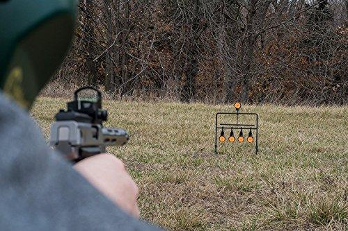 JUFENG .22 Rimfire Resetting Target, Outdoors Air Strike Pellet Shooting Target 5 Targets by JUFENG (Image #5)