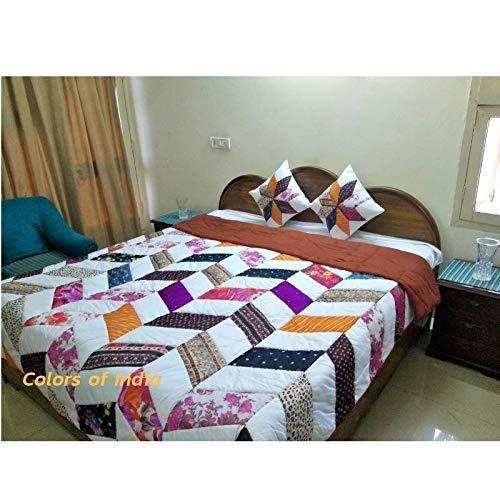 Amazon.com: Handmade Patchwork Queen Size Quilts, Warm Blanket
