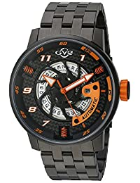 GV2 by Gevril Men's 'Motorcycle Sport' Automatic Stainless Steel Casual Watch (Model: 1304B)