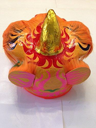 Chinese New Year Lion Dragon Head Dance 13''