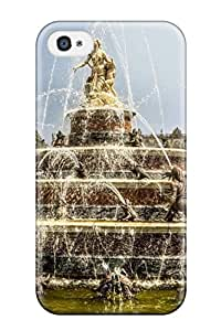 Unique Design Iphone 4/4s Durable Tpu Case Cover Fountain