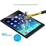 Bovon 4024069 Ultra Clear & Thin 9H Hardness 0.3mm Rounded Edge UV Resistant Anti Scratch Tempered Glass Screen Protector for iPad Pro (12.9-Inch)