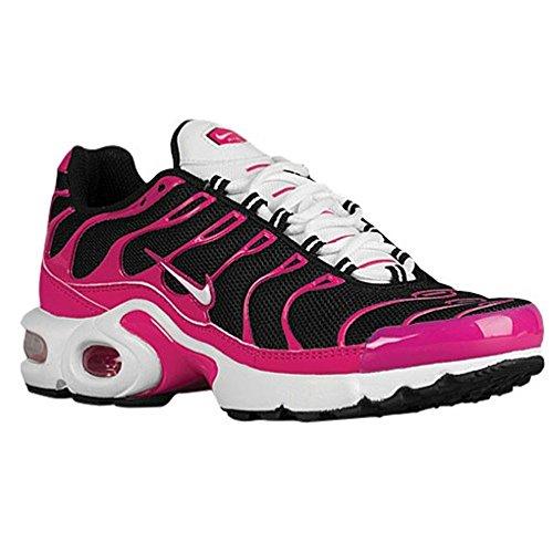sports shoes 9eaf7 922a1 Nike Air Max Plus (Girls Grade School) (7, Black/White/Vivid ...