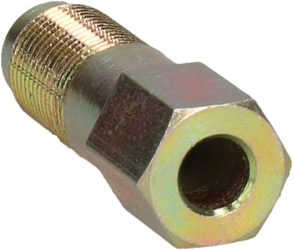 10 pezzi 12 mm x 1 mm Raccordi di raccordo maschio in acciaio per tubo freno