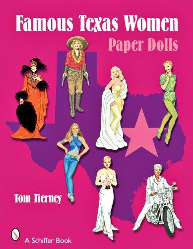 Famous Texas Women Paper Dolls (Women Paper Dolls)