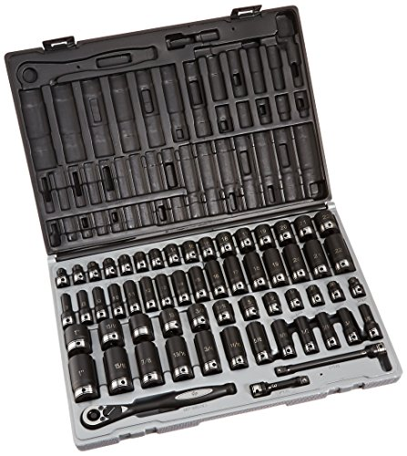 Grey Pneumatic 81259CRD Chrome Socket_Sets, 12 Pack