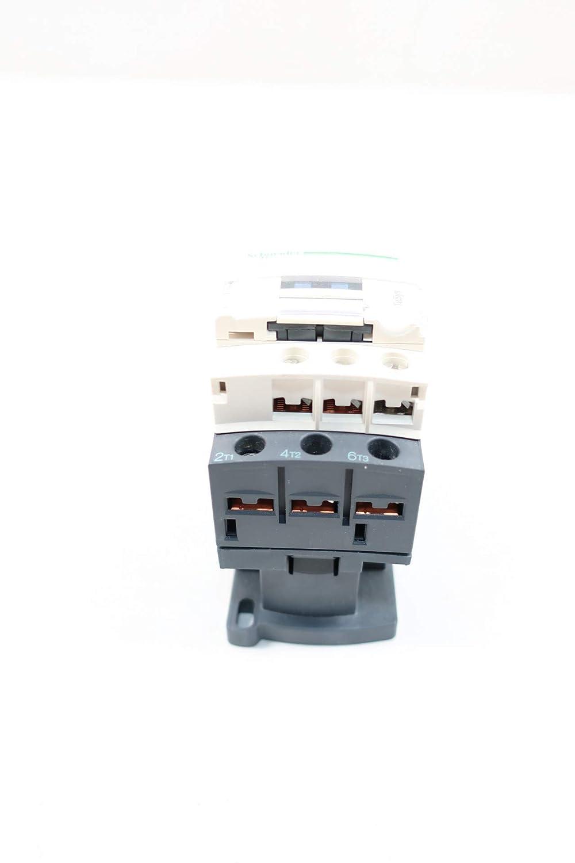 SCHNEIDER LC1D18G7 120V-AC 32A 10HP AC CONTACTOR