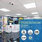 2x4 FT White LED Flat Panel Troffer Light, 50W