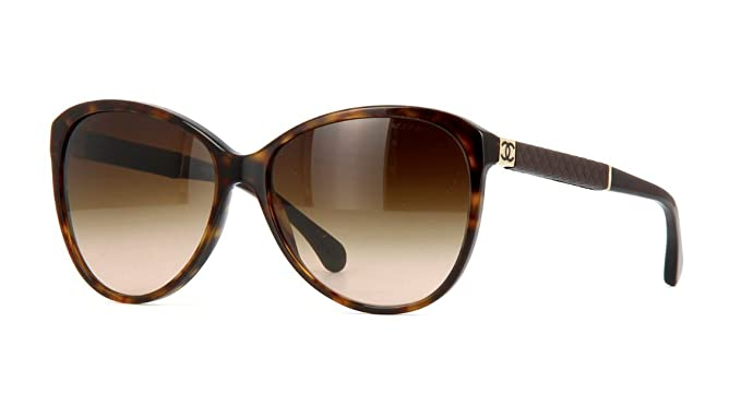 Gafas de Sol Chanel CH5225Q DARK HAVANA/ BROWN GRADIENT ...