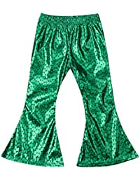 Kids Baby Girls Mermaid Fish Stretch Long Leggings Tight...