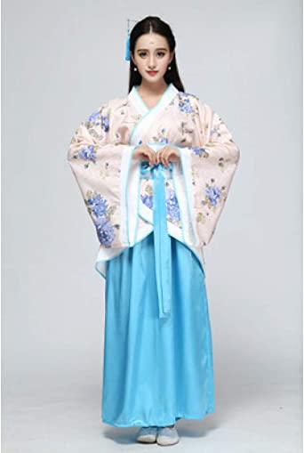 Cxlyq Hanfu Womens Fairy Kostüme Tang Dynasty Clothing Alten
