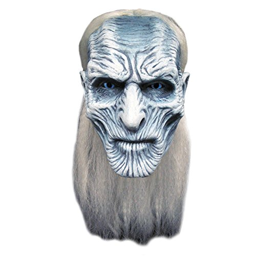 Trick Or Treat Studios Men's Game of Thrones-White Walker Mask, Multi, One Size -